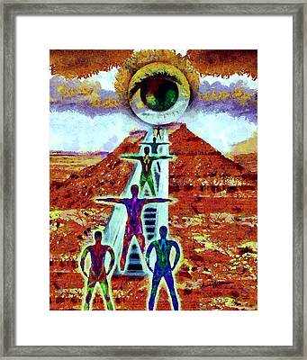 Ascension Framed Print by Anthony Caruso