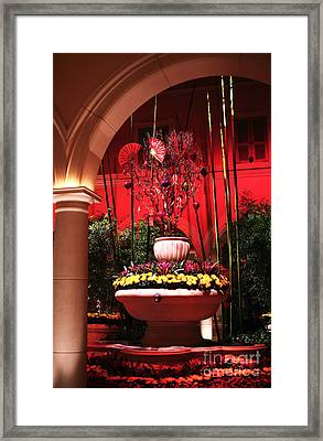Asian Decor Framed Print by John Rizzuto
