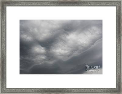 Asperatus - Sky Before Storm Framed Print by Michal Boubin