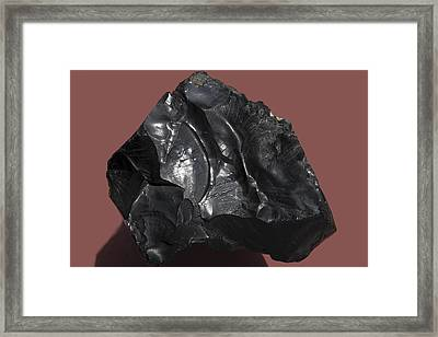 Asphalt Framed Print by Dirk Wiersma