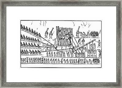 Assyria: Transportation Framed Print by Granger