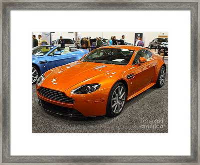 Aston Martin Db9 . 7d9625 Framed Print by Wingsdomain Art and Photography