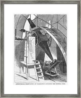 Astronomer, 1869 Framed Print by Granger