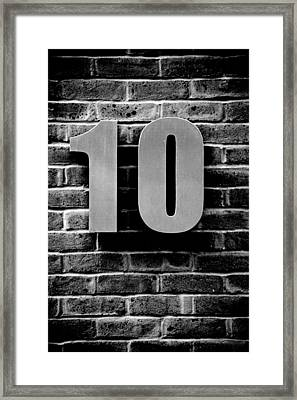 At Number 10 Framed Print by Jez C Self
