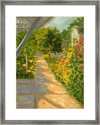 At The Corner Of Mountain Street Framed Print by Jody Stephenson
