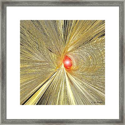 At The End Of The Tunnel Framed Print by Michael Durst
