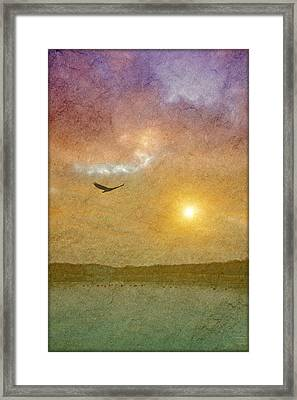 At The Lake Framed Print by Tom York Images