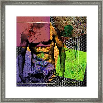 At The Right Mood Framed Print by Mark Ashkenazi