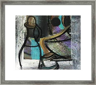 At Your Service Framed Print by Kelly Turner