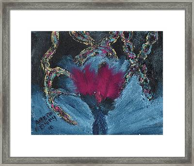 Athea Seeks New Treatments Framed Print by Annette McElhiney
