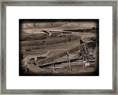 Atlas Coal Mine C Framed Print by Jonathan Lagace