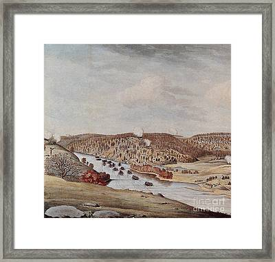 Attack Against Fort Washington 1776 Framed Print by Photo Researchers