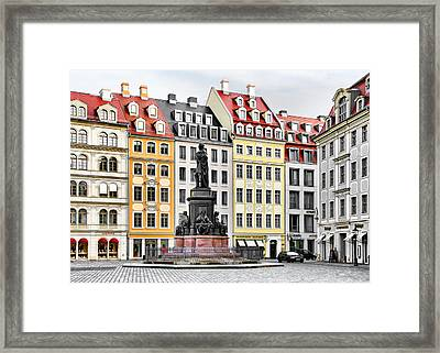 Augustus II The Strong -  A Legend Lives On In Dresden Framed Print by Christine Till
