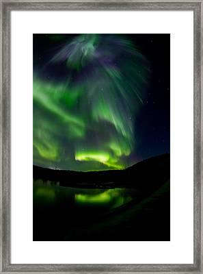 Aurora 2 Framed Print by Maik Tondeur