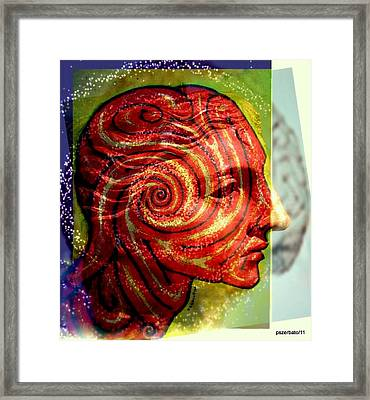 Auspicious Movement Of The Evolution Framed Print by Paulo Zerbato