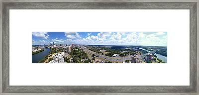 Austin A Rough Stitch Framed Print by James Granberry