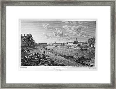 Austria: Vienna, 1821 Framed Print by Granger