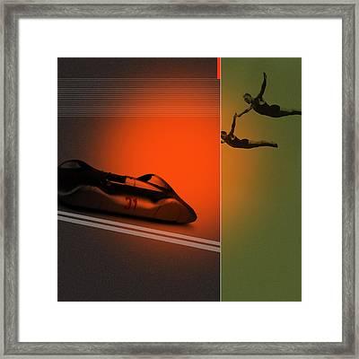 Autounion Framed Print by Naxart Studio