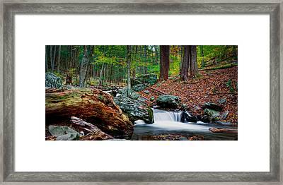 Autumn At The River Framed Print by David Hahn