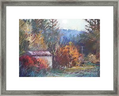 Autumn Glory Framed Print by Pamela Pretty