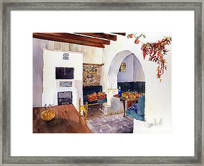 Autumn Harvest Framed Print by Margaret Merry