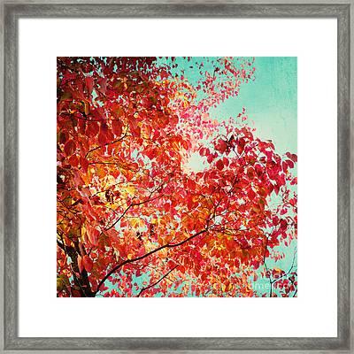 Autumn Framed Print by Kim Fearheiley