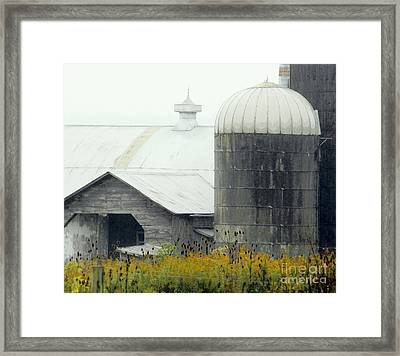 Autumn Rain Framed Print by Joe Jake Pratt