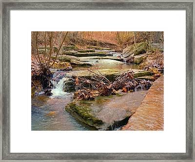 Autumn River Framed Print by Felix Concepcion