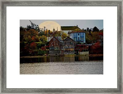 Autumn View Framed Print by Kurt Adams