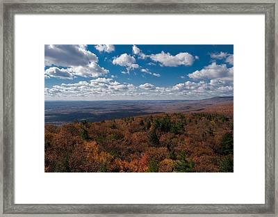 Autumn Vista Framed Print by Jim DeLillo