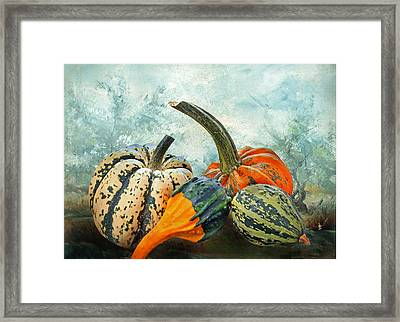 Autumnal Framed Print by Manfred Lutzius