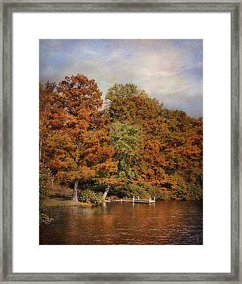Autumn's Edge Framed Print by Jai Johnson