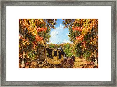 Autumn's Essence Framed Print by Lourry Legarde