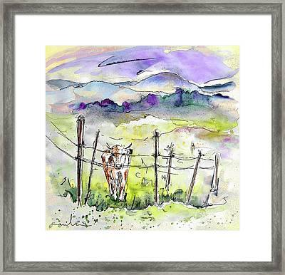 Auvergne 01 In France Framed Print by Miki De Goodaboom