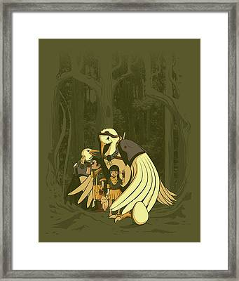 Aviary Adoption Framed Print by Michael Myers