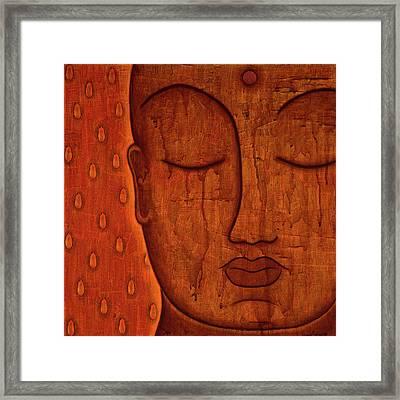 Awakened Mind Framed Print by Gloria Rothrock