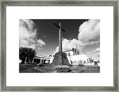 Azorean Chapel Framed Print by Gaspar Avila