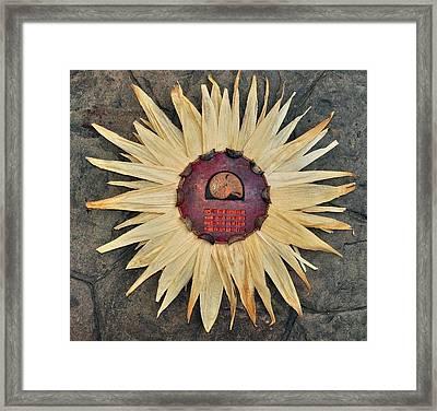 Aztec Industry  Framed Print by Vanessa Williams
