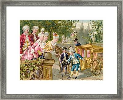 Babbitts Soap, 1887 Framed Print by Granger
