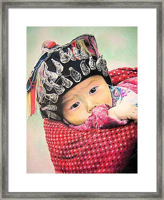 Baby Miao Framed Print by Eric Pouillet