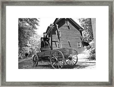 Back In The Days Framed Print by Betsy C Knapp
