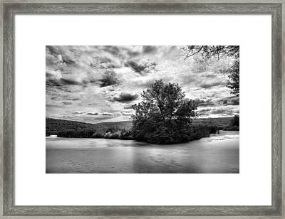 Backwaters Framed Print by Steven Ainsworth
