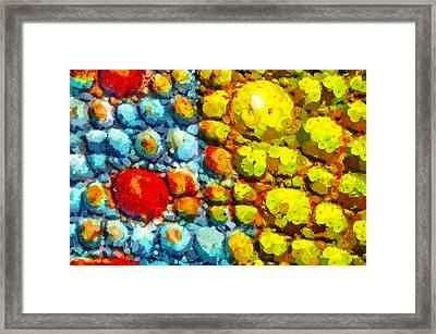 Bacteria 3 Framed Print by Angelina Vick