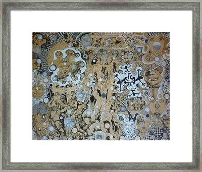 Bad Craziness Framed Print by Douglas Fromm