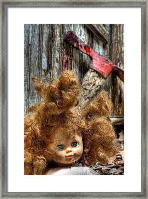 Bad Hair Day Framed Print by JC Findley