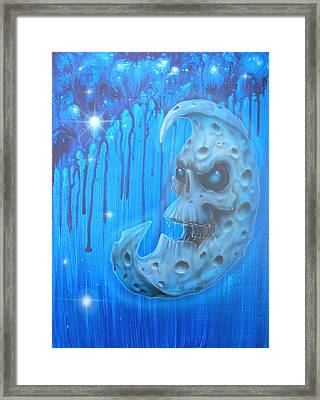 Baddmoon Framed Print by Mike Royal