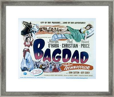 Bagdad, Maureen Ohara, Paul Christian Framed Print by Everett