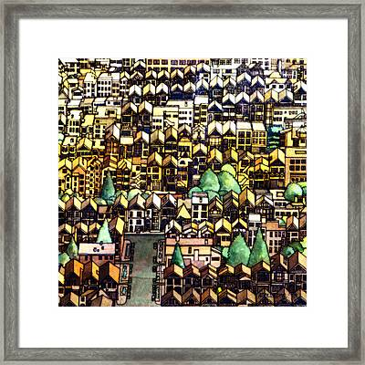 Baghdad By The Bay Framed Print by Andre Salvador
