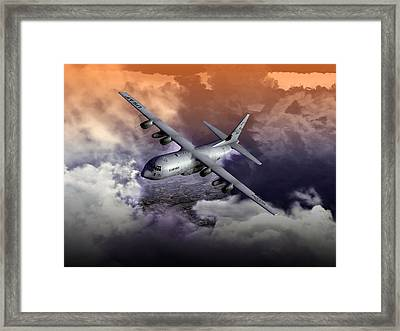 Baghdad Express 01 Framed Print by Mike Ray