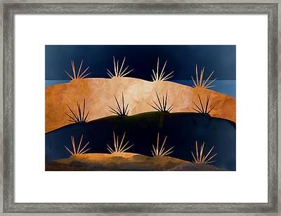 Baja Landscape Number 1 Framed Print by Carol Leigh